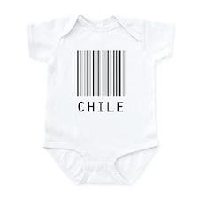 CHILE Barcode Onesie