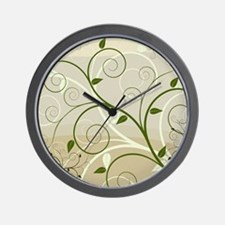 Art - Design - Nature Wall Clock