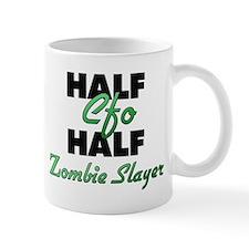 Half Cfo Half Zombie Slayer Mugs