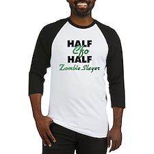 Half Cfo Half Zombie Slayer Baseball Jersey