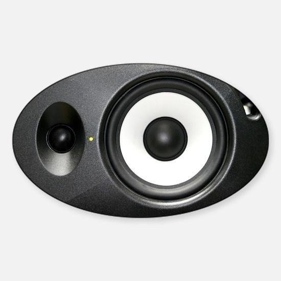 Loudspeaker Sticker (Oval)