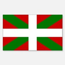 Basque Rectangle Decal