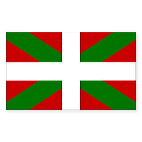 Basque Rectangle Sticker