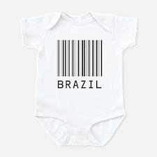 BRAZIL Barcode Onesie