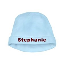 Stephanie Santa Fur baby hat