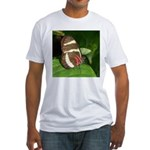 Butterfly pic Fitted T-Shirt