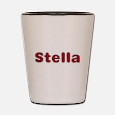 Stella Santa Fur Shot Glass