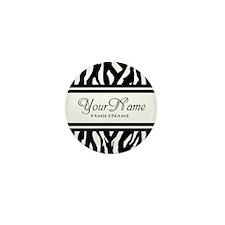 Custom Animal Print Mini Button (10 pack)
