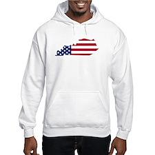 Kentucky American Flag Hoodie