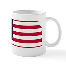 Kansas American Flag Mugs