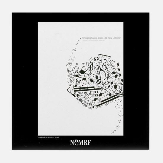 NOmrf Art Tile Coaster