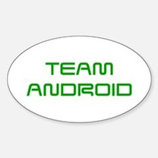 TEAM-ANDROID-SAVED-GREEN Decal