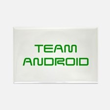TEAM-ANDROID-SAVED-GREEN Magnets