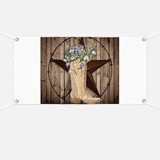 cute western cowgirl Banner