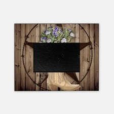 cute western cowgirl Picture Frame