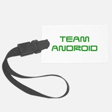 TEAM-ANDROID-SAVED-GREEN Luggage Tag