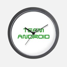 TEAM-ANDROID-SAVED-GREEN Wall Clock