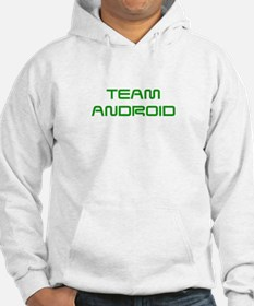 TEAM-ANDROID-SAVED-GREEN Hoodie