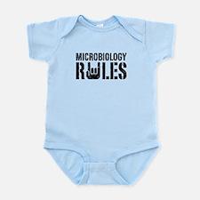 Microbiology Rules Infant Bodysuit
