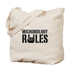 Microbiology Rules Tote Bag
