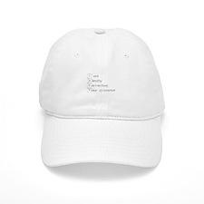 correcting-grammar-break-gray Baseball Baseball Cap