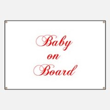 baby-on-board-scr-red Banner