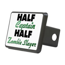 Half Captain Half Zombie Slayer Hitch Cover