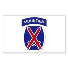 SSI - 10th Mountain Division Decal