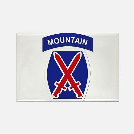 SSI - 10th Mountain Division Rectangle Magnet