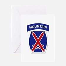SSI - 10th Mountain Division Greeting Card