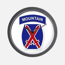 SSI - 10th Mountain Division Wall Clock