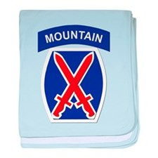 SSI - 10th Mountain Division baby blanket