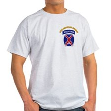 SSI - 10th Mountain Division with Text T-Shirt