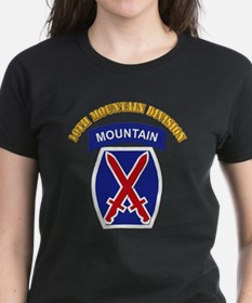 SSI - 10th Mountain Division with Text Tee