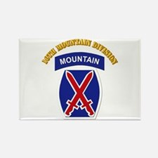 SSI - 10th Mountain Division with Text Rectangle M