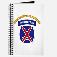 SSI - 10th Mountain Division with Text Journal