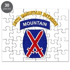SSI - 10th Mountain Division with Text Puzzle