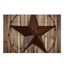 western texas star Postcards (Package of 8)