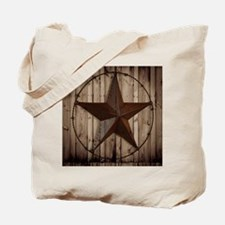 western texas star Tote Bag
