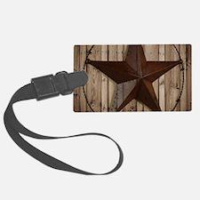 western texas star Luggage Tag
