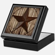 western texas star Keepsake Box
