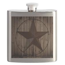 western texas star Flask