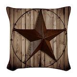Cowboy boots Woven Pillows