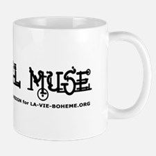 Cardinal Muse Mug