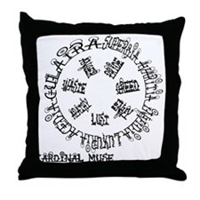 Seven Deadly Sins Throw Pillow