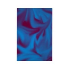 Blue fire  Rectangle Magnet