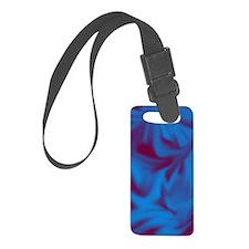 Blue fire  Luggage Tag