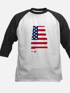 Alabama American Flag Baseball Jersey