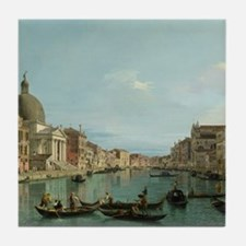 Upper Reaches of the Grand Canal (by Canaletto) Ti
