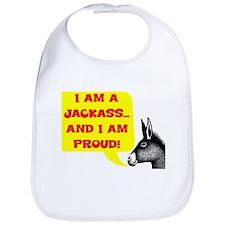 JACKASS AND PROUD Bib
